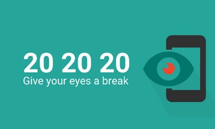 aplicación móvil para descansar Eye Care 202020
