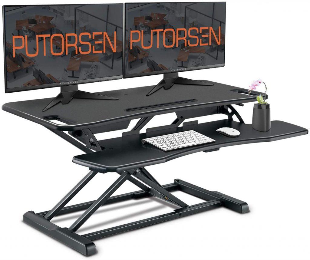 convertidor de escritorio de pie PUTORSEN 37