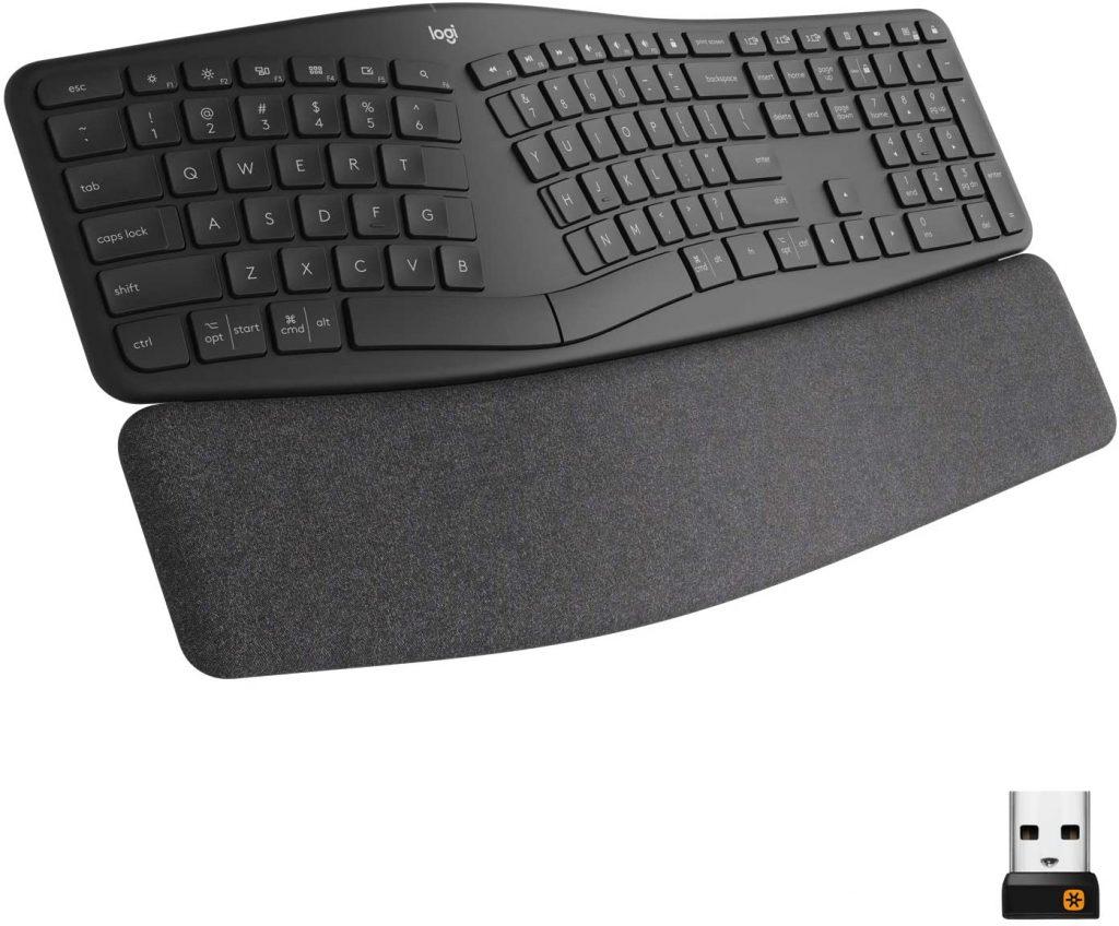 teclado ergonómico Logitech Ergo K860